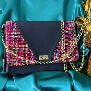 CHRISTIAN LACROIX Designer Chain Handbag